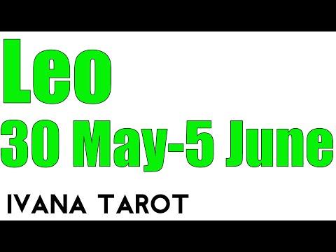 leo weekly 30 to 5 tarot reading