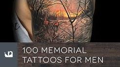 100 Memorial Tattoos For Men