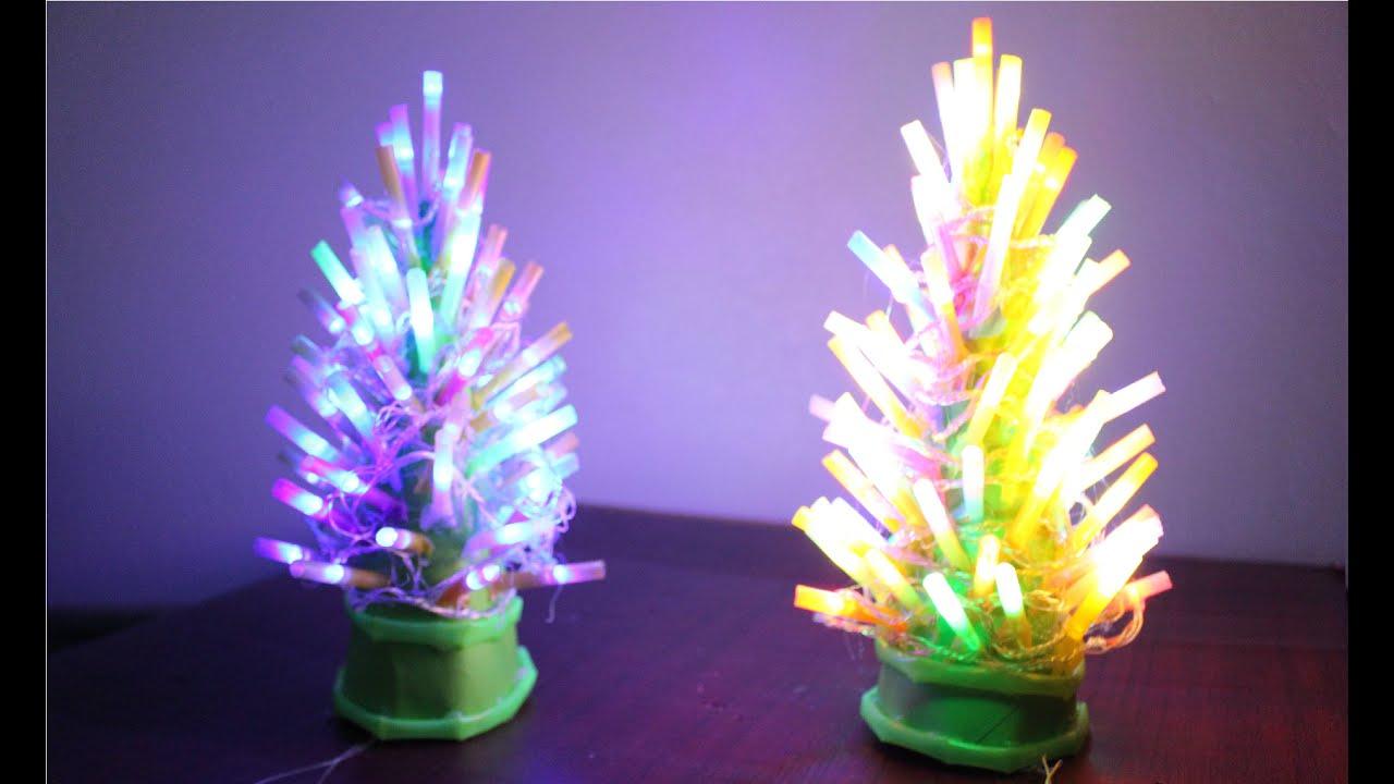 Cara membuat lampu pohon natal - YouTube