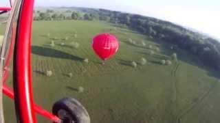 видео Первые воздушные шары, аэростаты и дирижабли