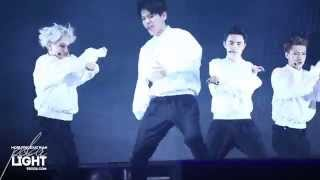 [POLAR LIGHT]140415 COMEBACK SHOWCASE - OVERDOSE BAEKHYUN CUT