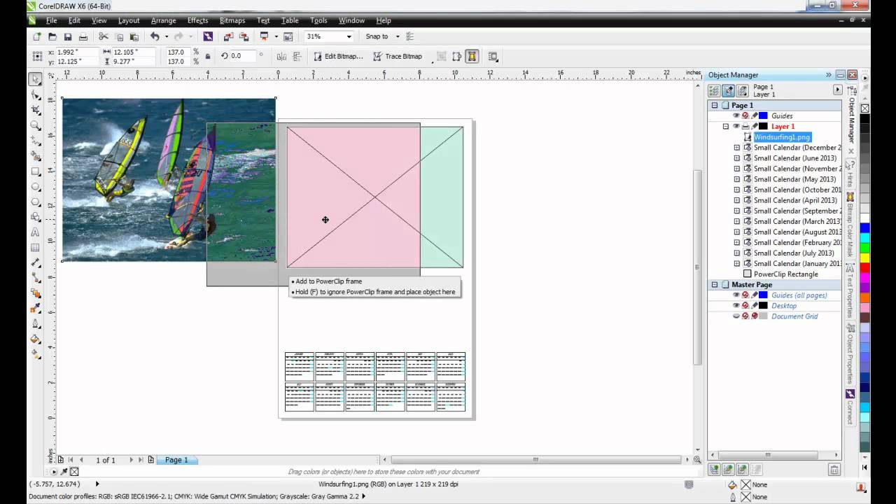 coreldraw naptár készítés Creating Calendars in CorelDRAW X6   YouTube coreldraw naptár készítés