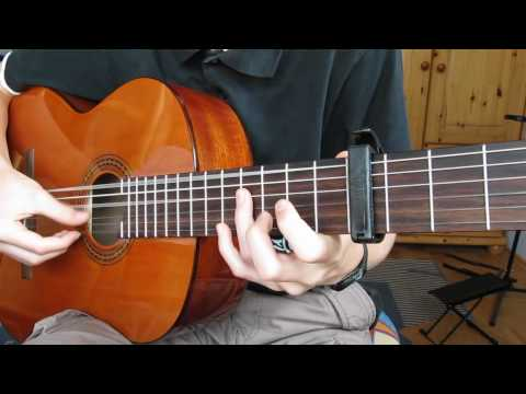 Mad World (Gary Jules) - Classical Guitar...