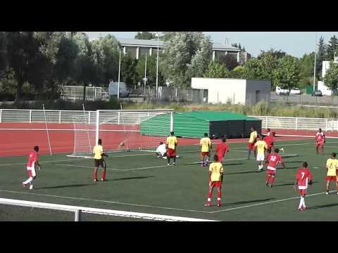 Congo vs Togo But Congo Coupe D'Afrique D'Alsace 2013