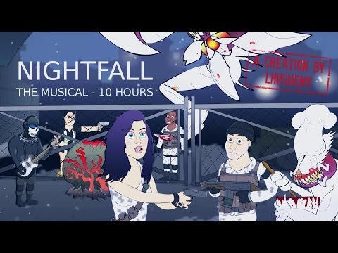 ♪ NIGHTFALL THE MUSICAL - Katy Perry Dark Horse Parody by Logan Hugueny-Clark [10 HOURS VERSION]