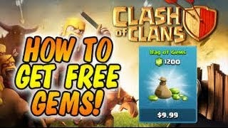 EASIEST WAY TO EARN FREE GEMS IN CLASH OF CLANS (FEBRUARY 2014)