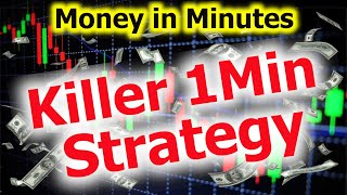 BEST 1 Minute TRADING Strategy | MONEY IN MINUTES | Forex, HFX & Binary