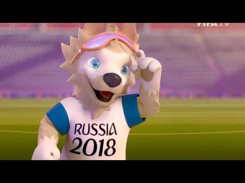 ЧМ 2018 талисман волк забивака