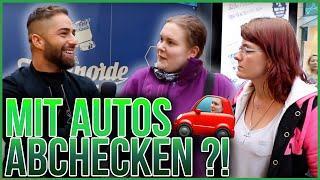 Mit Autos abchecken? Wer hat mehr zusagen Frau oder Mann ?