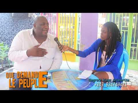 Urgent:EMONGO-LUAMBO PARLE DE LA DISPARITION DE L' ARTISTE LUTUMBA-SIMARO