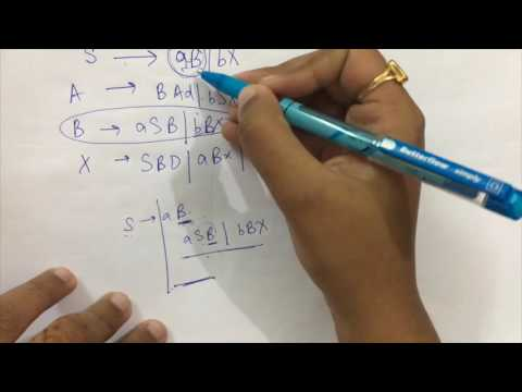 Simplification Of CFG Part-1   Elimination of useless symbols   Theory Of Computation(TOC)