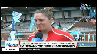 National swimming championships Kenya`s team picking