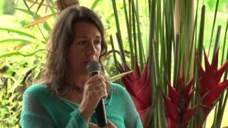 Dawn DelVecchio speaking at Awakened Woman Conference Bali 2016