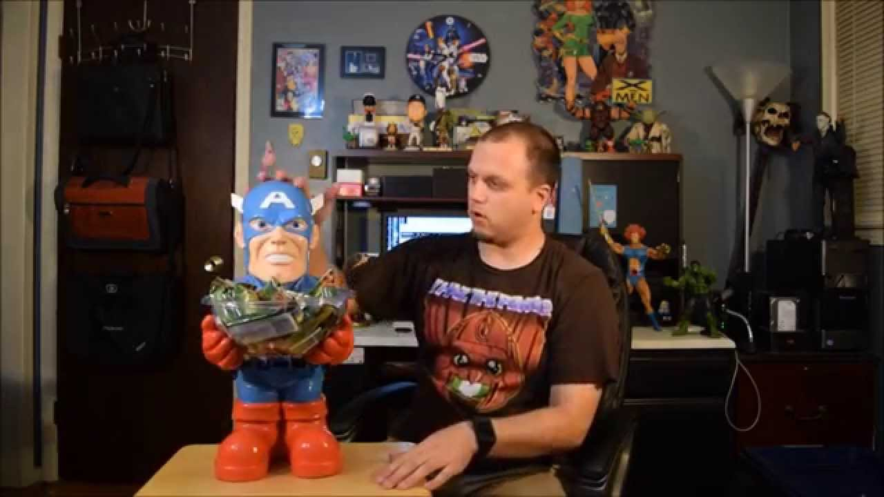 Captain America Candy Bowl Holder Unboxing and Review ...