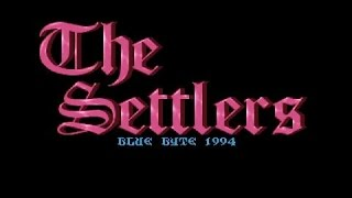 The Settlers gameplay (PC Game, 1993)