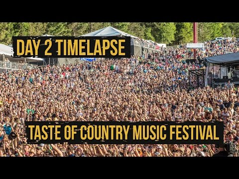 Taste of Country Music Festival, Day 2 Under 60 Seconds