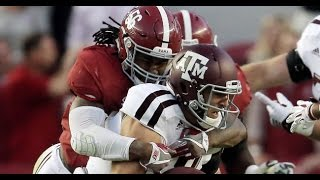 Tim Williams (Alabama) vs. Texas A&M (2016)