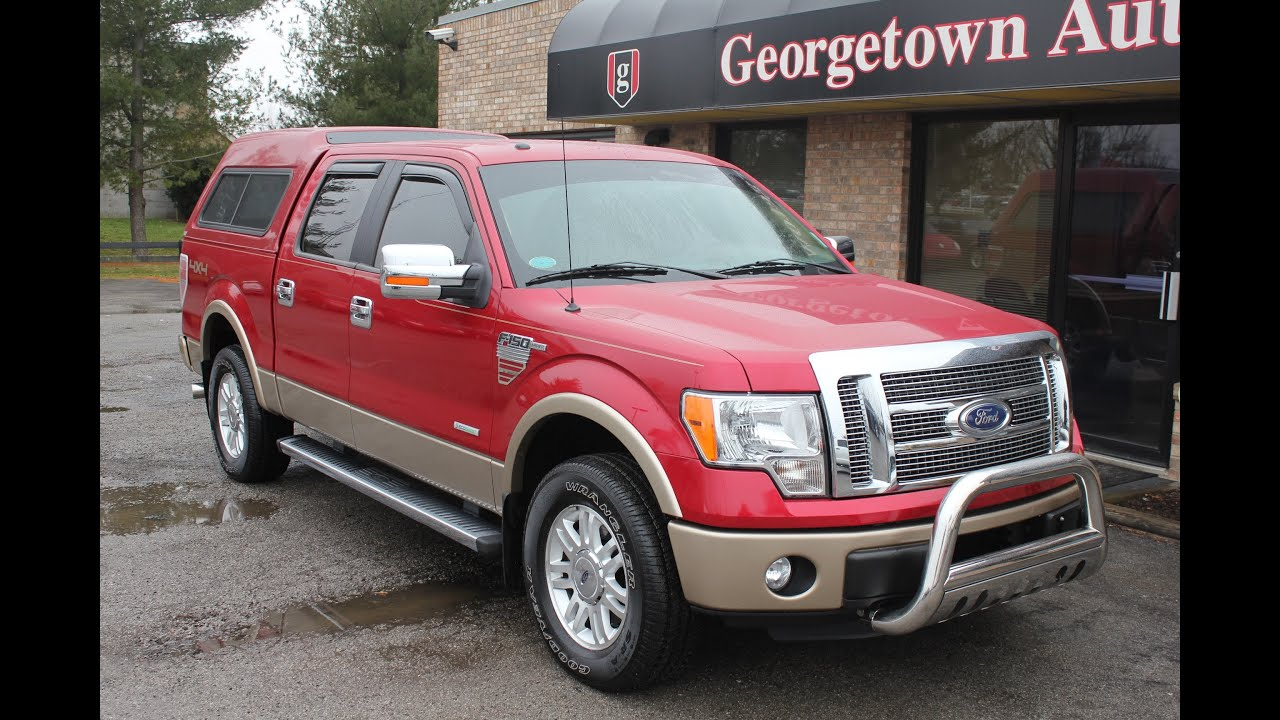 Used like New 2011 Ford F 150 Lariat ECOBOOST for sale Geor own