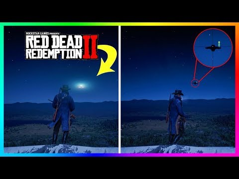 What Happens If You Shoot The Alien UFO With An Explosive Sniper Rifle In Red Dead Redemption 2? thumbnail