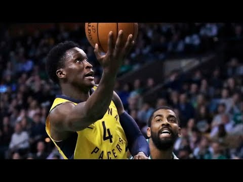 Victor Oladipo 35 Points vs Celtics and Kyrie Irving! 2017-18 Season