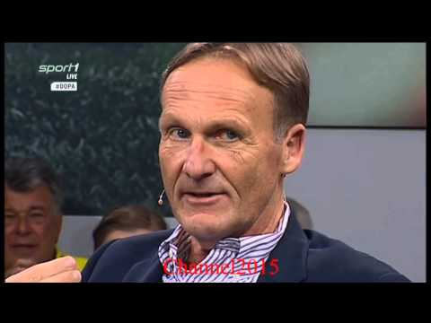 "Hans-Joachim Watzke"" BVB""- im SPORT1-Doppelpass vor der Klatsche gegen Bayern München 5:1"