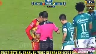 Monarcas Morelia vs león 2-2 Resumen 1er tiempo