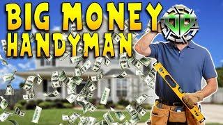 House Flipper Gameplay : Big Money Handyman! Half a Million : PC Lets Play