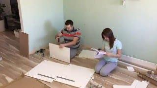 Складання письмового столу IKEA MALM за 3 хвилини :)