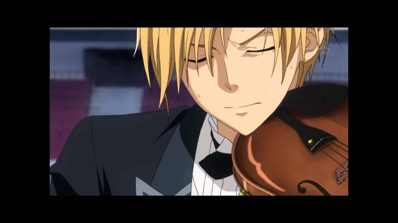 Usui playing the...V Is For Violin