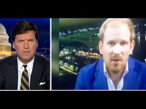 Tucker Flips Out, Kicks Off Lefty Guest In Unaired Interview