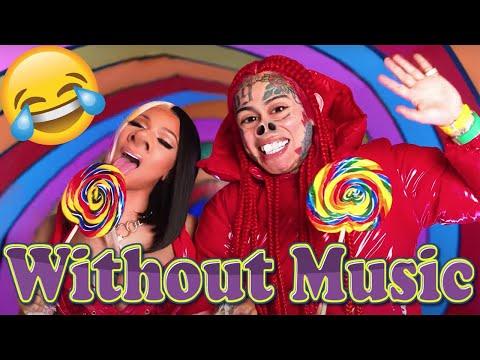 6ix9ine \u0026 Nicki Minaj - Without Music - TROLLZ