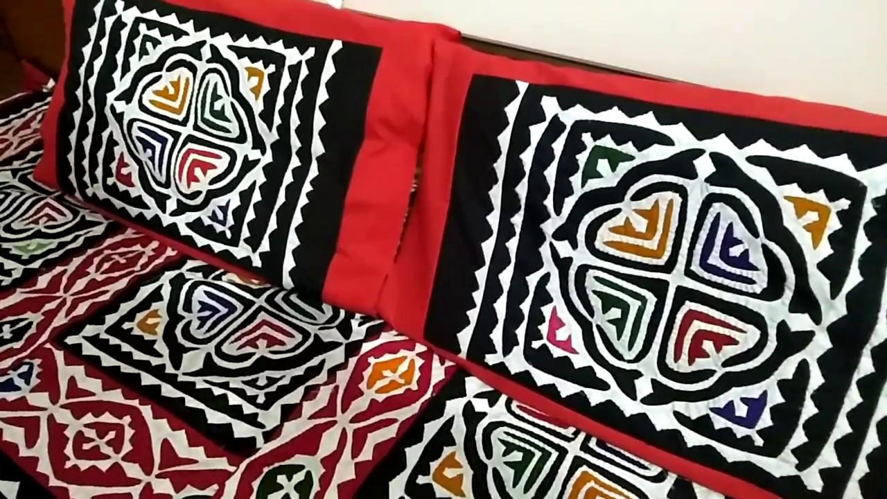 Applique bed sheet design top designs for bed room handi