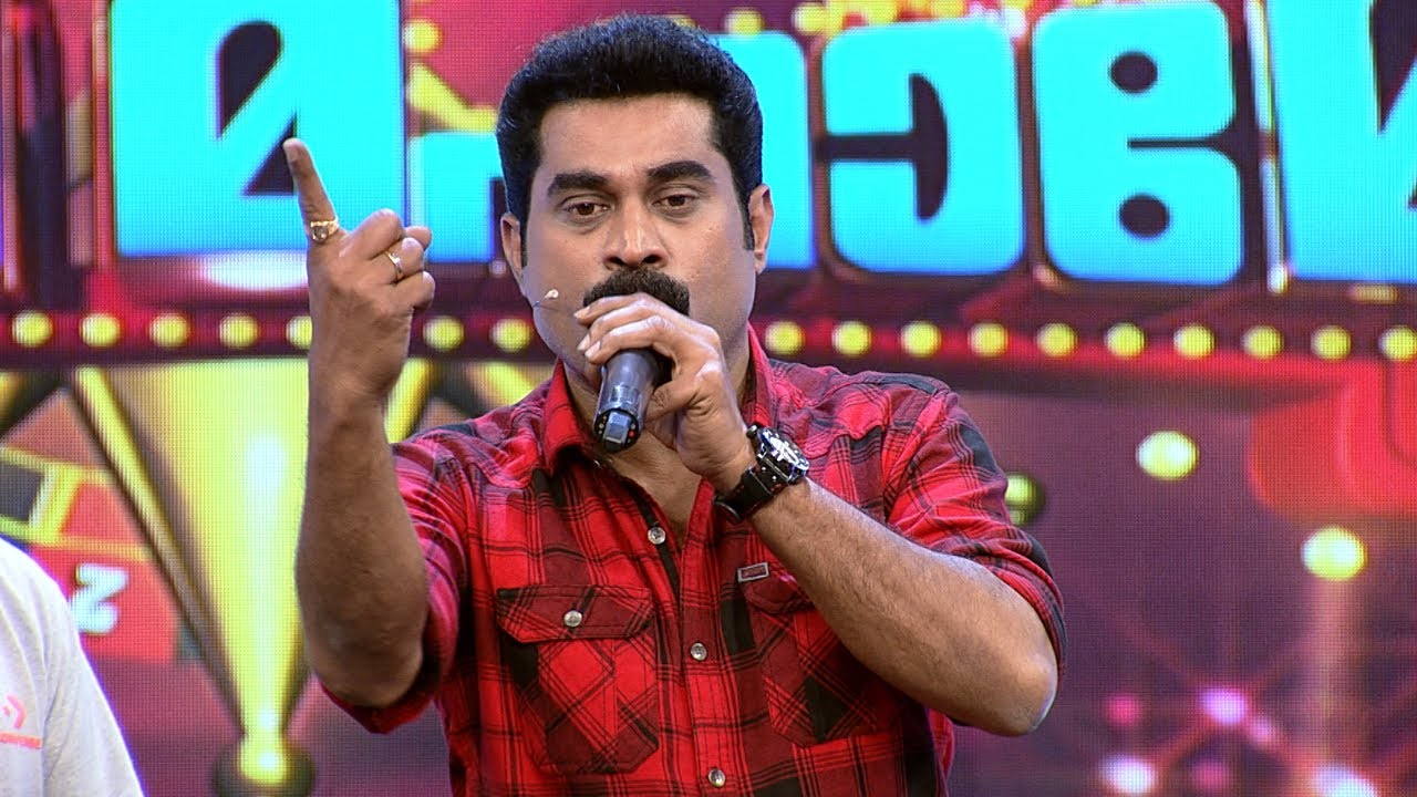 #MimicryMahamela | Suraj's  mimicry has left everyone in splits | Mazhavil Manorama