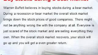 How to Invest Like Warren Buffett from www.investmenthawk.com