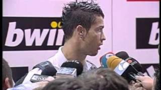 cristiano ronaldo el pichichi es para el equipo y la aficion flv