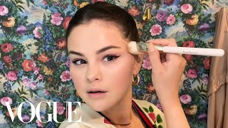 Selena Gomez Shares Her Go-To Evening Routine, Met Gala Memories, and Going Blonde   Beauty Secrets