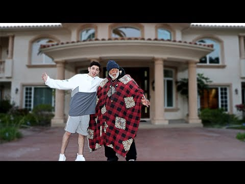 INVITING HOMELESS MAN INTO MY HOME.. **huge surprise** | FaZe Rug