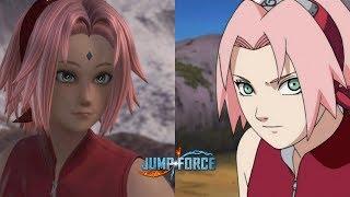 Jump Force: How To Make Sakura (Naruto Shippuden)