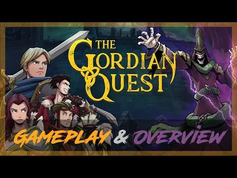 The Gordian Quest - A Rogue-Lite, Deck-Building, RPG Adventure! | Private Alpha Gameplay