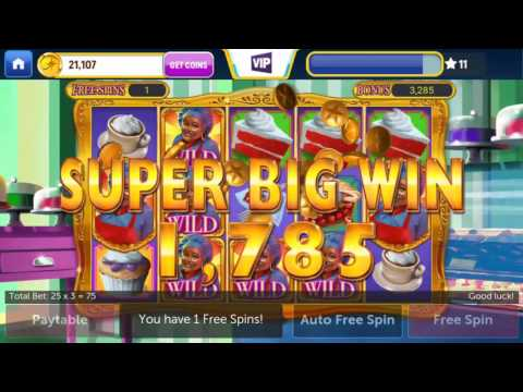 Cakes & Cherries - Jackpotjoy Slots 🎰 Android Gameplay Vegas Casino Slot Jackpot Big Mega Wins Spins