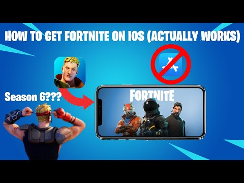 How To Get Fortnite On IOS (Actually Works!)