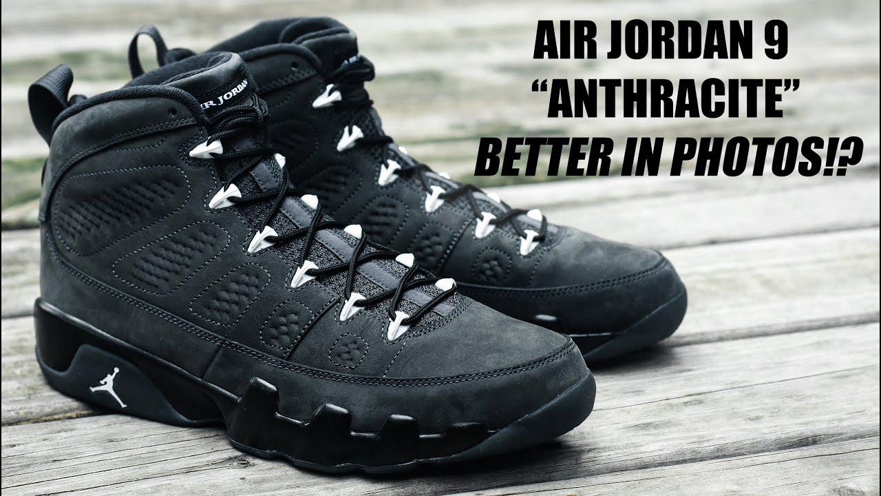 Air Jordan Opinión 9 Antracita De Relacionado extremadamente VpEAfh