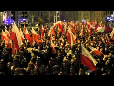 Marsz Niepodległości We Wrocławiu 11.11.2015