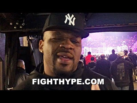 JARRELL MILLER SPILLS THE BEANS ON ANTHONY JOSHUA FIGHT; SAYS HE AND WHYTE GETTING PLAYED