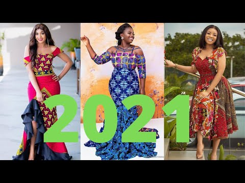 2021 Cute And Unique Ankara Dresses;Latest Beautiful African #Ankara Styles Dress For African Queen