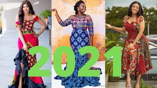 2021 Cute And Unique Ankara Dresses;Latest Beautiful African #Ankara Styles Dress For African Queen screenshot 5