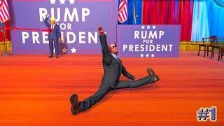 Mr President! прохождение ЗАЩИТИТЬ ПРЕЗИДЕТНА (1 эпизод)