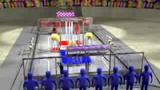 FIRST Robotics 2004 Game Animation