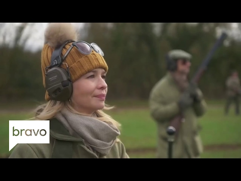 Ladies of London: Julie Montagu Goes Shooting Despite Being Vegetarian | Bravo