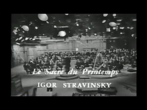 Pierre Boulez dirige Le Sacre du Printemps